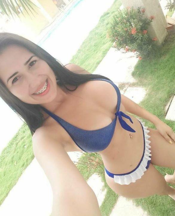 Selfies: jovencita guapa y sexi