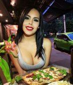 Mira que rica pizza