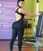 Mayas ajustadas en el gym