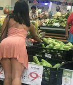 Madura en el supermercado