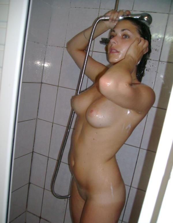 Любительские фото в душе