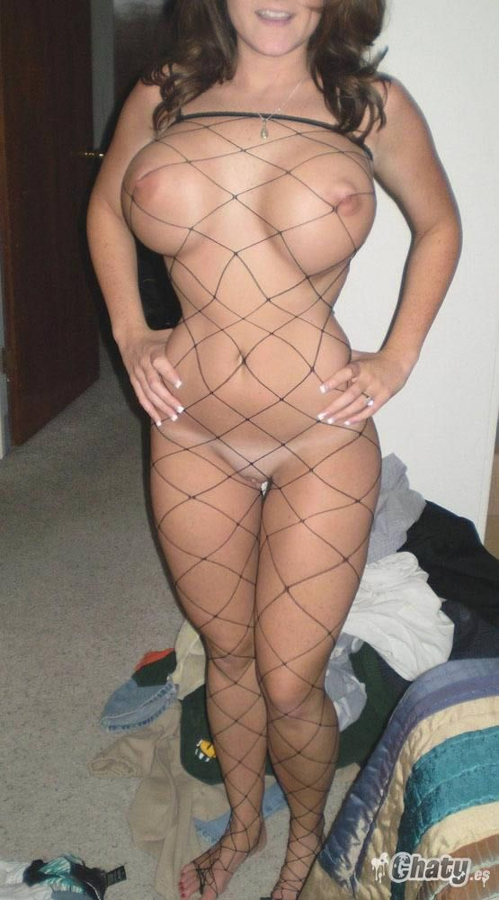 image Madura en traje de baño muestra coño peludo