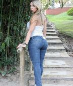 Mujeres en vaqueros - Pantalon ajustado