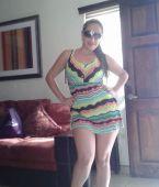 Vestido corto y piernas ricas