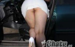 Tias en minifalda