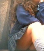 COLEGIALAS AMATEUR - Universitarias enseñando calzones