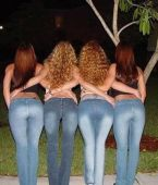 Fotos de chicas con pantalones ajustados